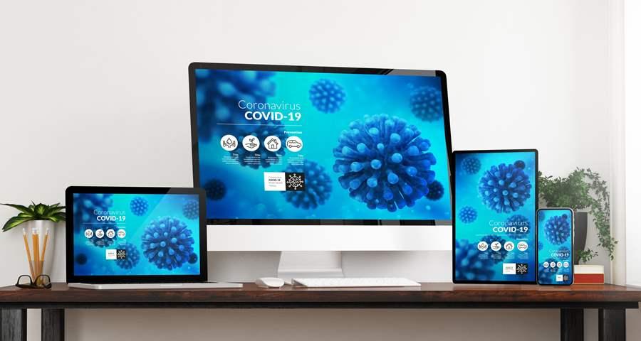 新型コロナウイルスのウェブサイト集